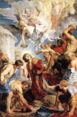 Peter Paul Rubens - Martiriul Sfântului Ștefan 1616