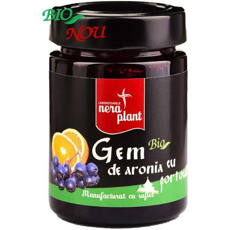 Gem de Aronia cu Portocala Nera Plant 230 gr