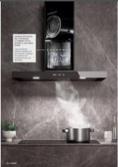 Tehnologie HIGH FILTERING HOOD pentru purificarea aerului de toate mirosurile cu o eficienta maxima de 95% in filtrarea carbonului activ si eliminarea mirosurilor