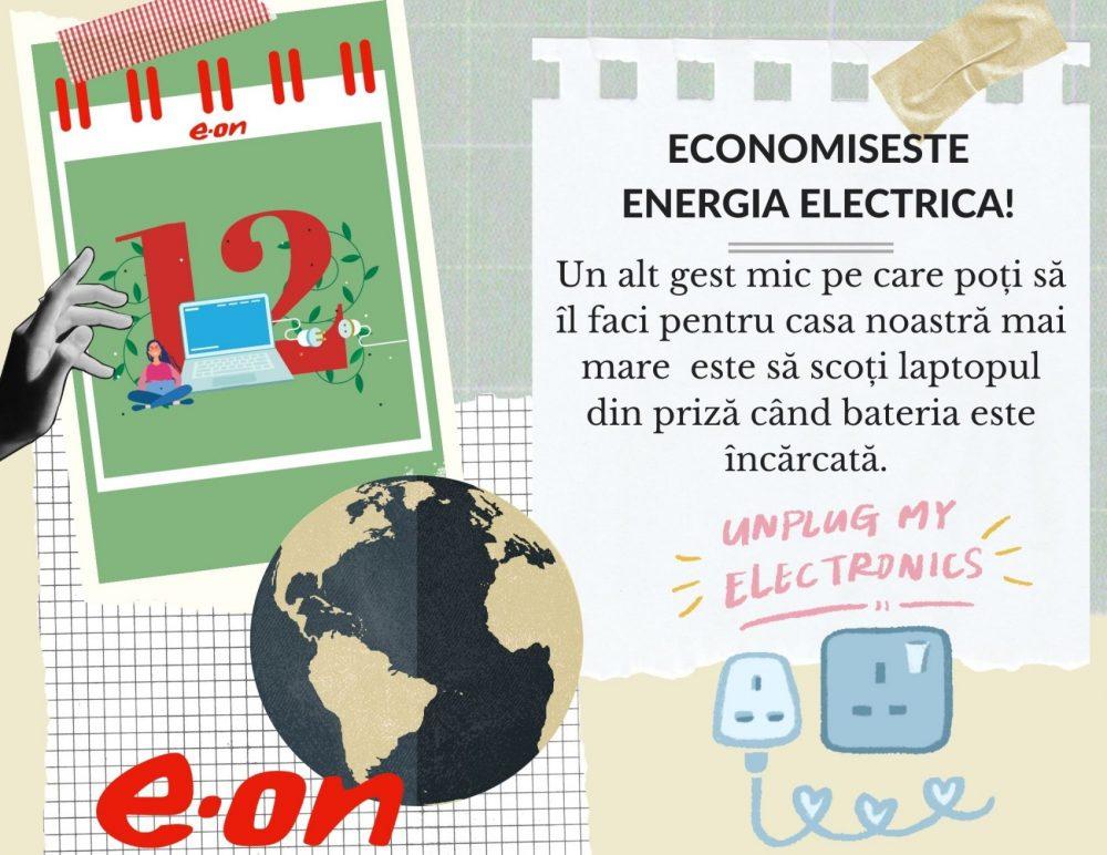 Calendar de sustenabilitate ziua 12
