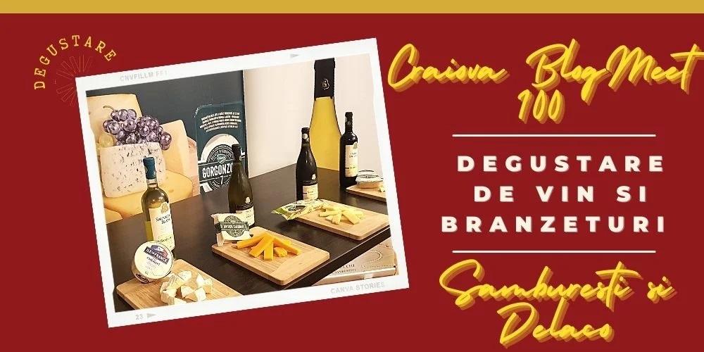 Craiova BlogMeet 100- degustare de vin si branzeturi- Samburesti si Delaco 8