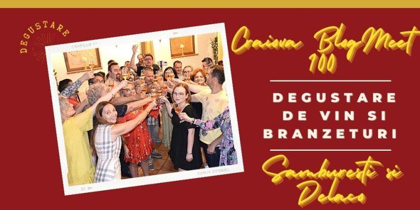 Craiova BlogMeet 100 degustare de vin si branzeturi- Samburesti si Delaco