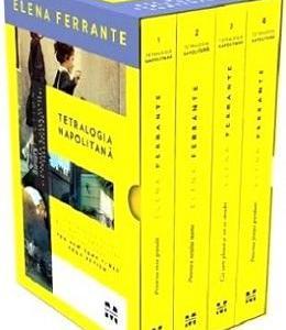 Pachet: Tetralogia napolitana (4 carti) - Elena Ferrante