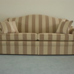Striped Fabric Sofas Uk Leather Recliner Sofa Jim Dickens Stripe By Ralvern Cannock