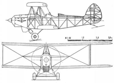 G-25 and G-25bis trainers by V.K.Gribovskij