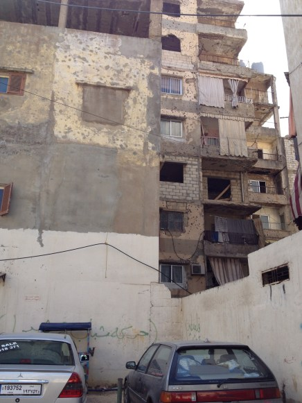 Burj El Barajneh - Graffiti wall project