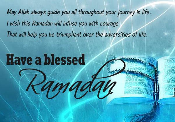 happy ramadan wishes message