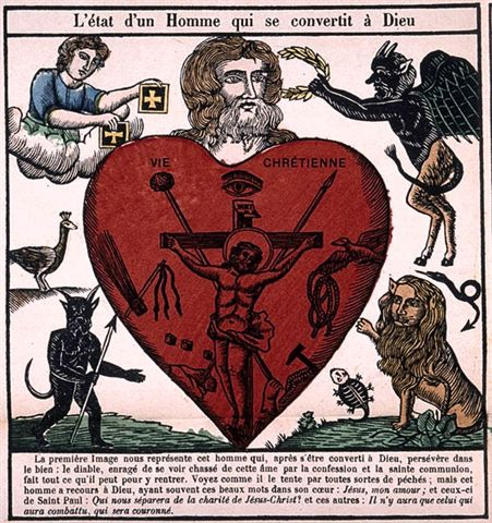 detail from 19th cent. French religious tract