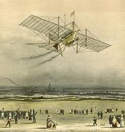 William Samuel Henson's Aerial Steam Carriage 'Ariel', of 1843