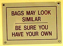 BAGS MAY LOOK SIMILAR | BE SURE YOU HAVE YOUR OWN
