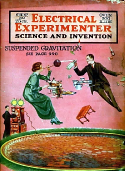 cover image from 'The Electrical Experimenter', February 1920