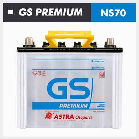 Aki GS Premium NS70