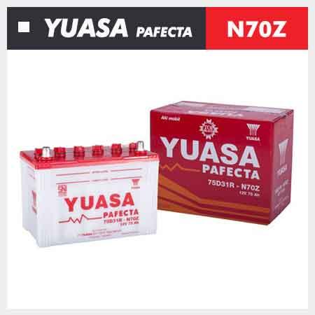 Aki Yuasa N70Z