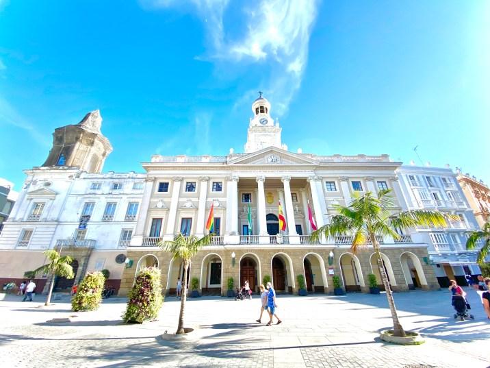 Plaza del Ayuntamiento de Cádiz