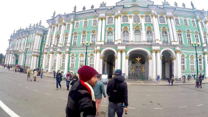 Hermitage - Rusia - San Petersburgo -  La ciudad que cambia de nombre