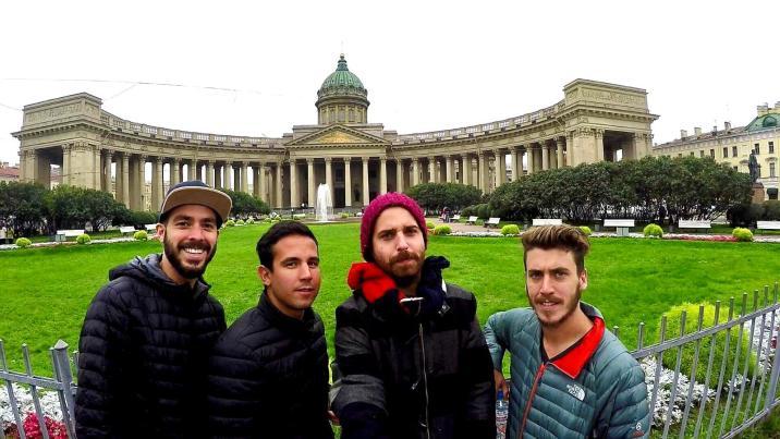 Iglesia de Kazan - San Petersburgo -  La ciudad que cambia de nombre