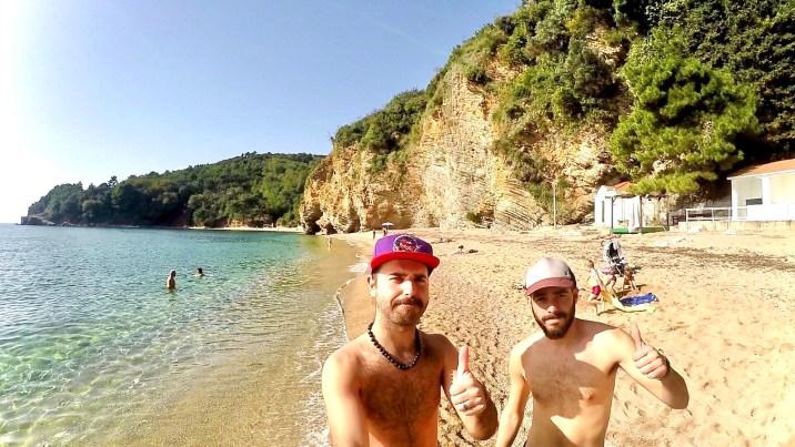 Playa de Mogren - Budva