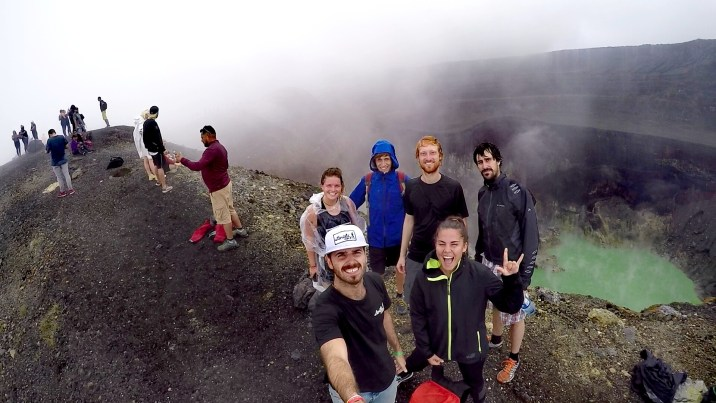 La cima del Volcán Santa Ana