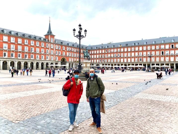 Plaza Mayor de Madrid - Lugares que no podemos dejar de ver en Madrid