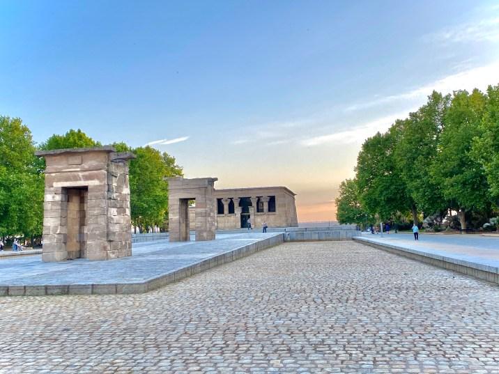 Templo de Debod - Lugares que no podemos dejar de ver en Madrid
