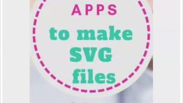 Easy apps to make svg files