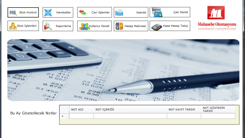 C # Pre-Accounting Program Access Database Project File