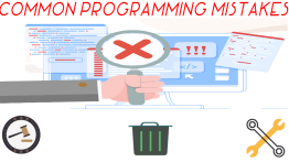 Common Programming Mistakes #1