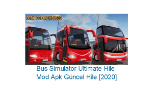 Bus Simulator Ultimate Hile Mod Apk Güncel Hile [2020]