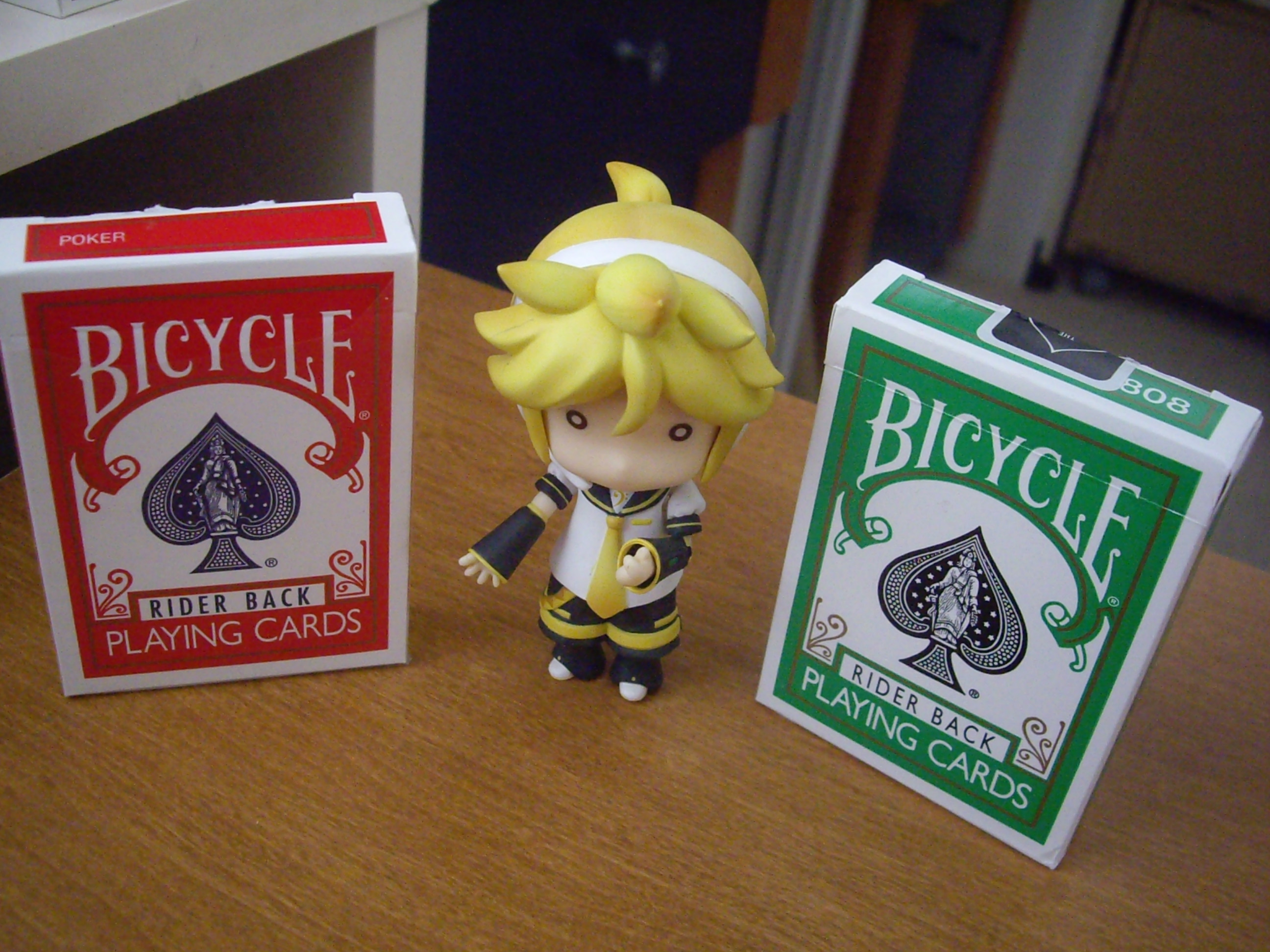 Bicycle Green : o      O