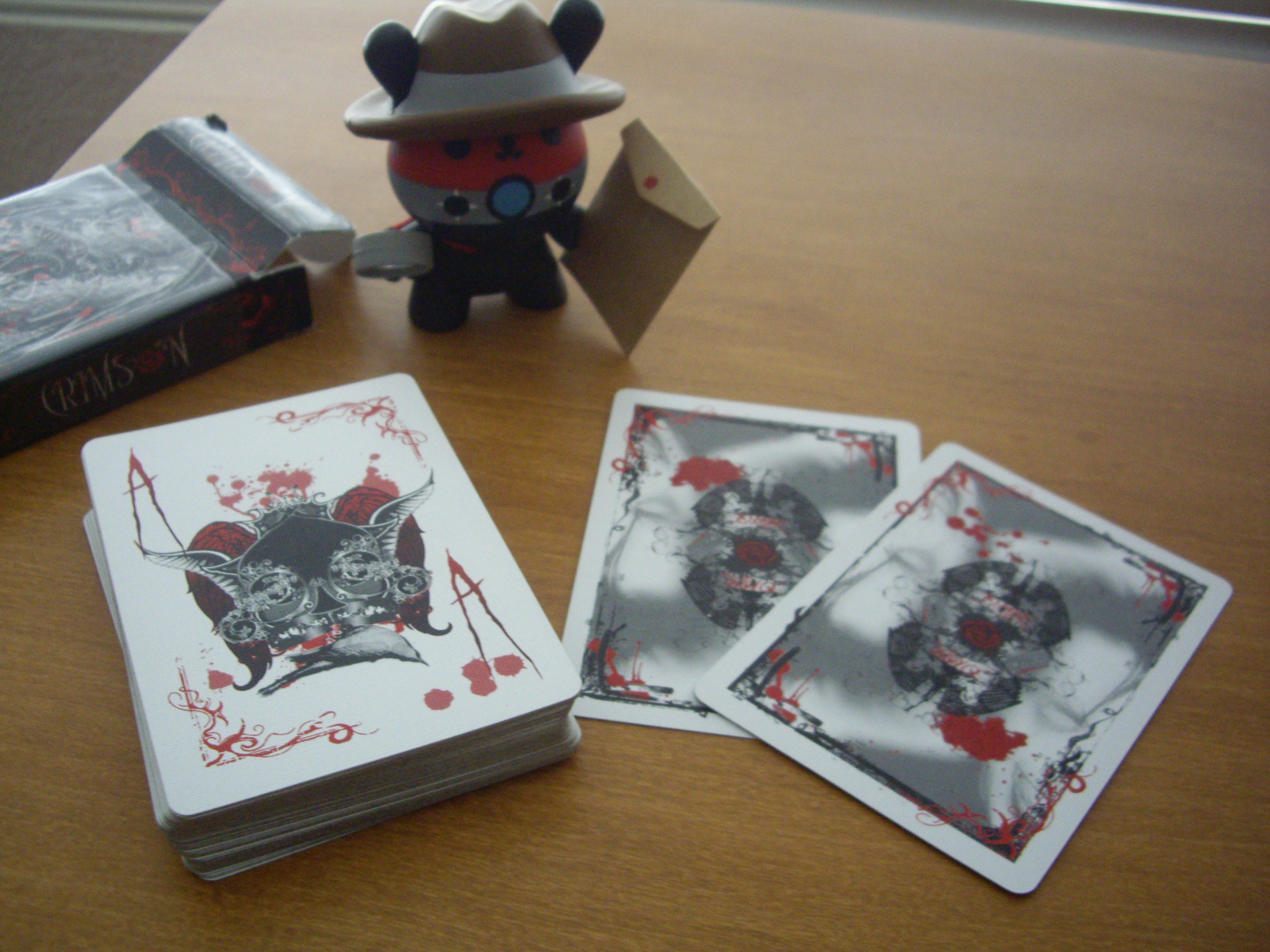 """Crimson : """"Bloody"""" Ace of Spades and Jokers"""