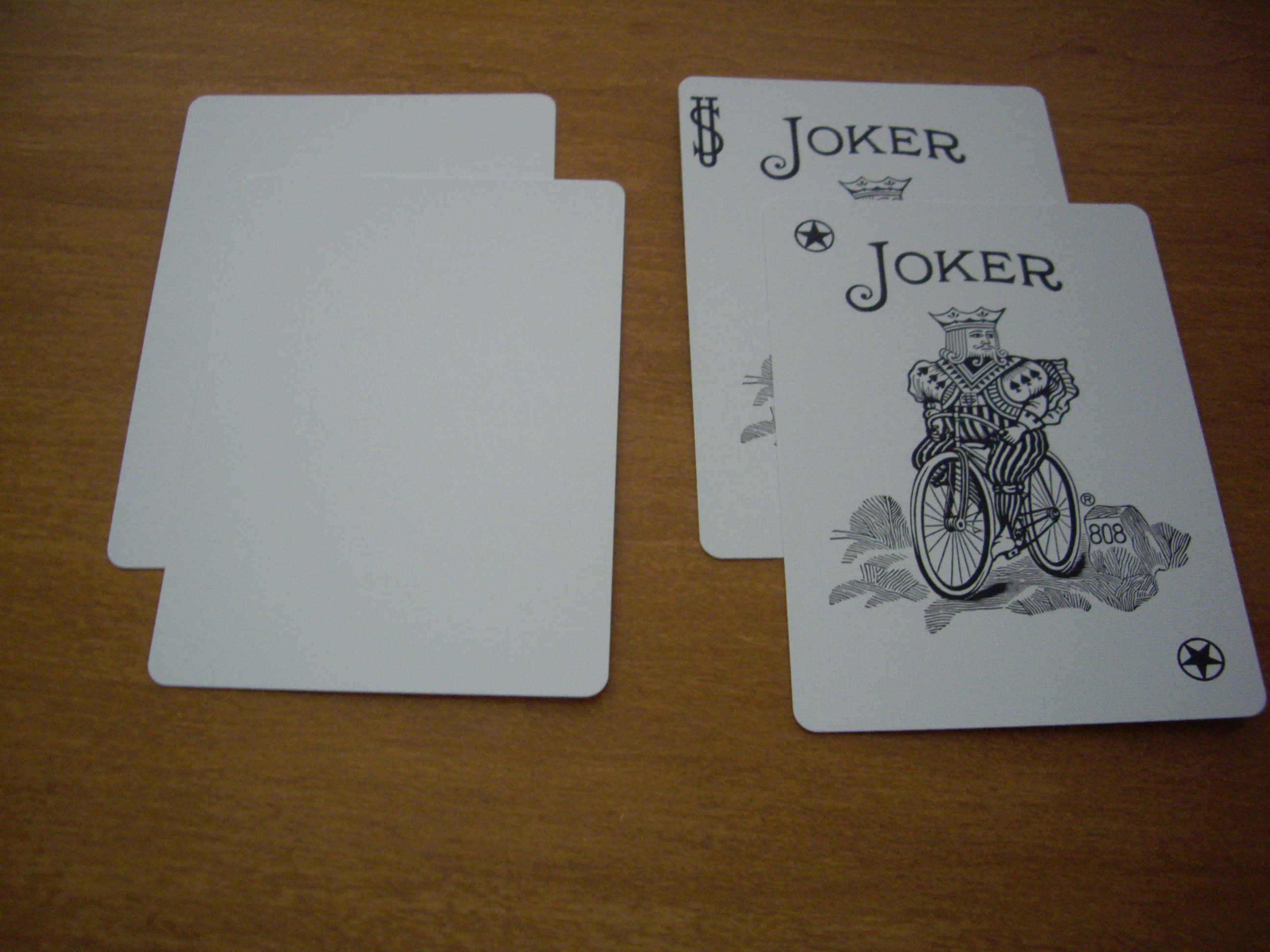Prestige : 52 + Blanks + Jokers