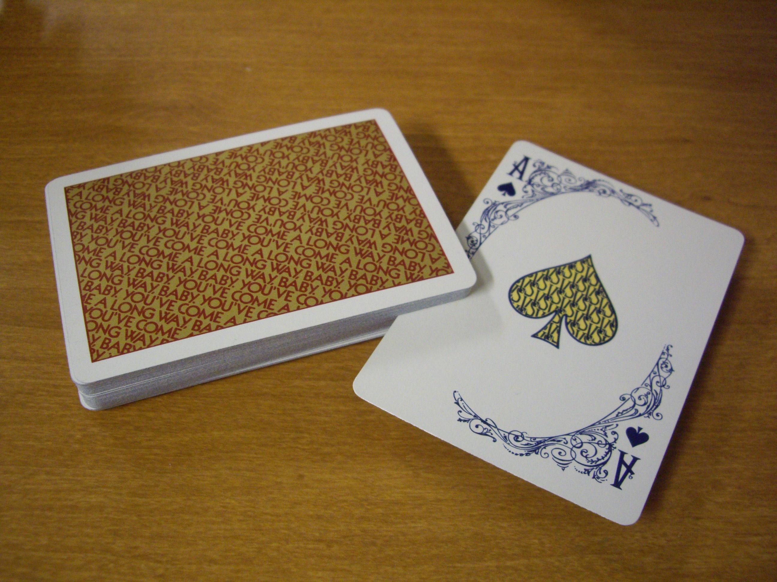 Virginia Slims : Ace of spades.