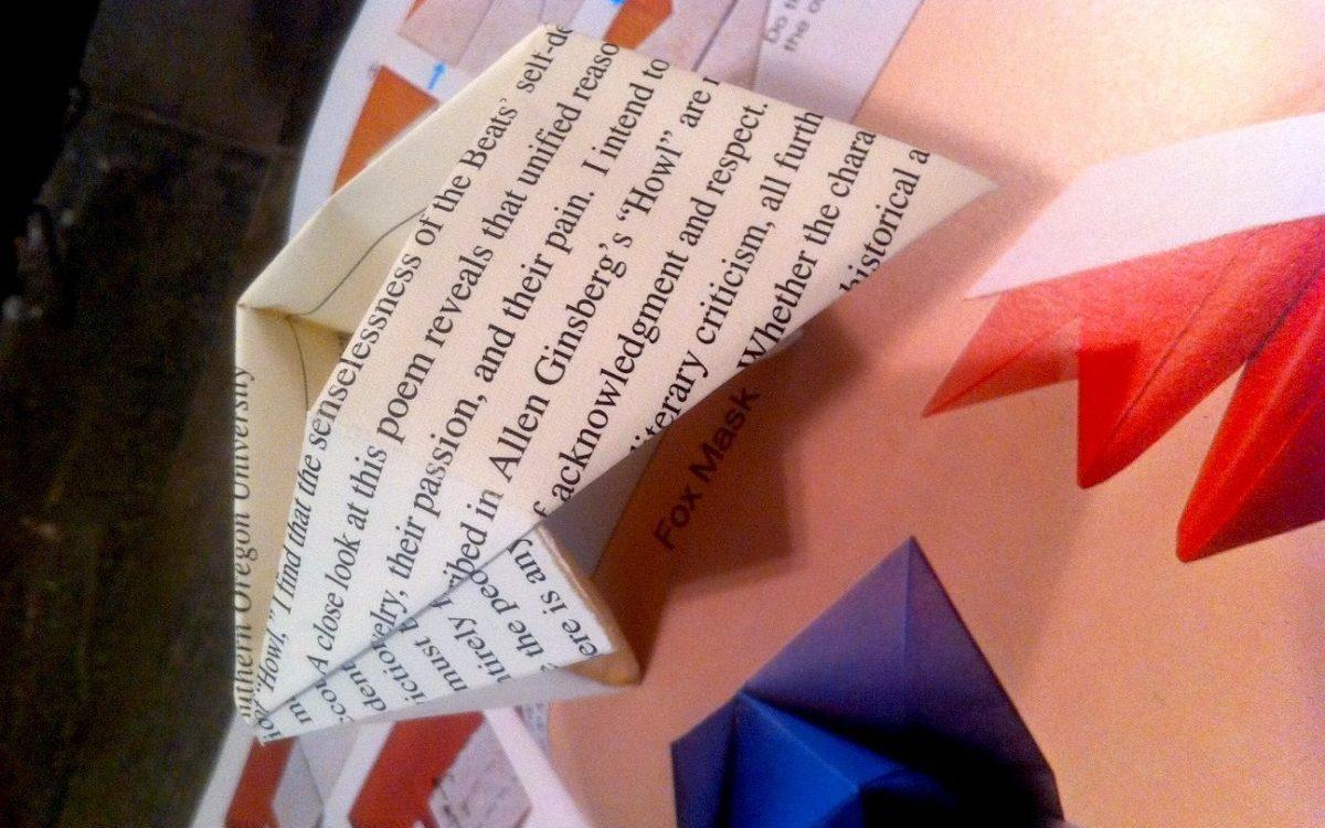 Howl Origami