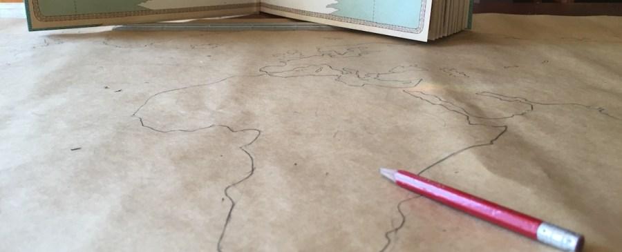 Map Exercise for Kindergarten