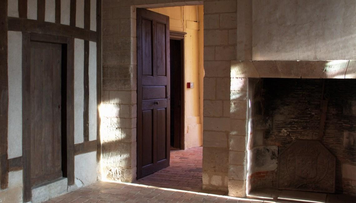 Kaminzimmer Château d'Harcourt