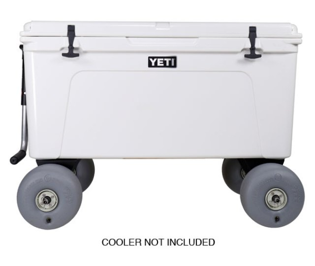 Rambler X Beach Wheels For Yeti Coolers