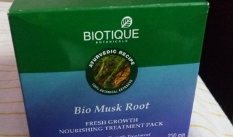 Biotique Musk Root Hair Pack Review