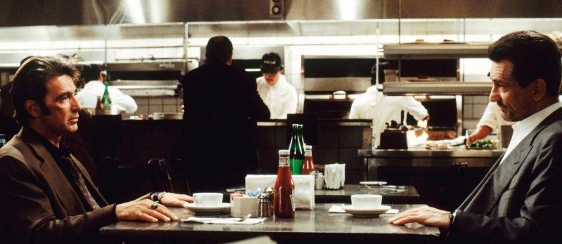 Heat, Robert De Niro and Al Pacino