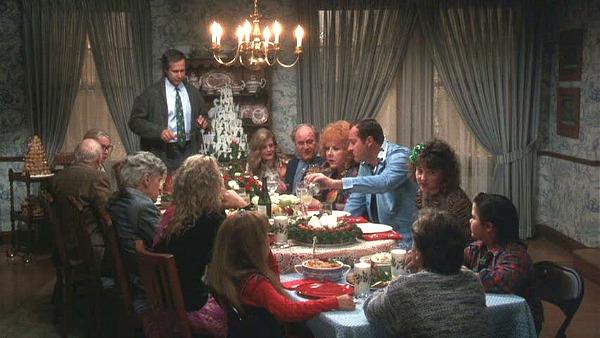 Christmas Vacation dinner