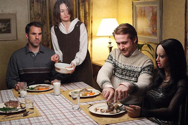 Lars and the Real Girl dinner scene