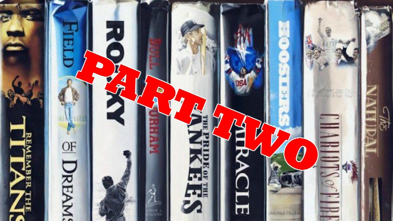 Five More Sports Movies We Love
