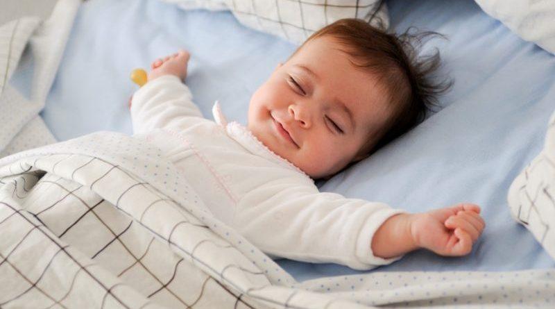 Baby loving the nap