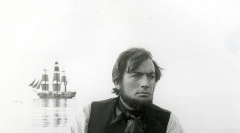 Gregory Peck in Moby Dick.