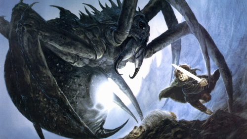 Tolkien vs Peter Jackson: Shelob