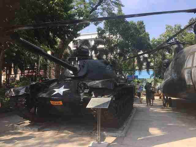 Tank used in the Vietnam war