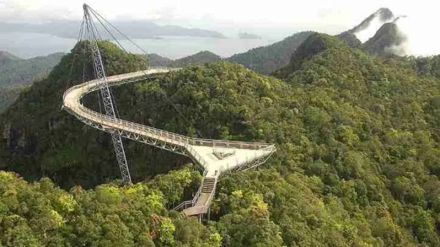 Sky Bridge in Langkawi