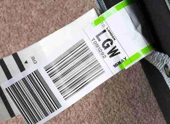Luggage tags for your travel journal