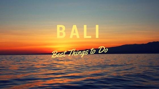 Bali Things to do logo