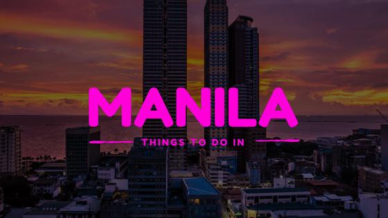 Manila things to do Logo