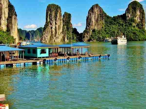 Floating Villages of Halong Bay